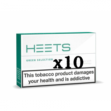 IQOS Green HEETS 10 Packs
