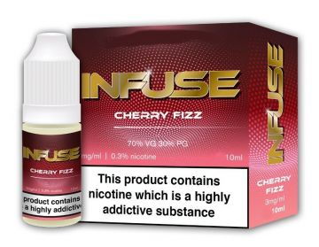 Cherry Fizz E-Liquid by Vape Infuse 10ml