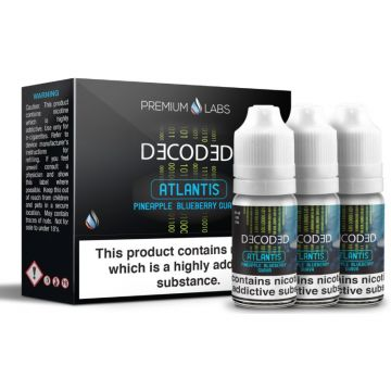 Atlantis E-Liquid By Decoded 30ml