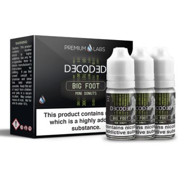 Big Foot E-Liquid By Decoded 30ml