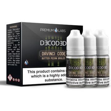 Davinci Code E-Liquid By Decoded 30ml