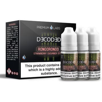 Rongo Rongo E-Liquid By Decoded 30ml