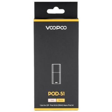 Voopoo Drag Nano Replacement Pods | 4 Pack