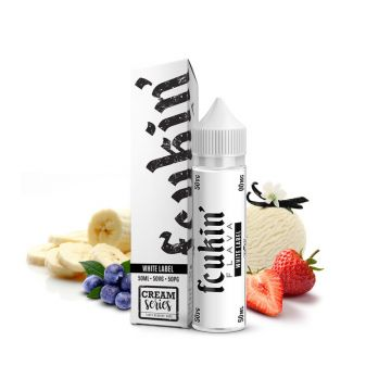 White Label E-Liquid By Fcukin Flava Shortfill
