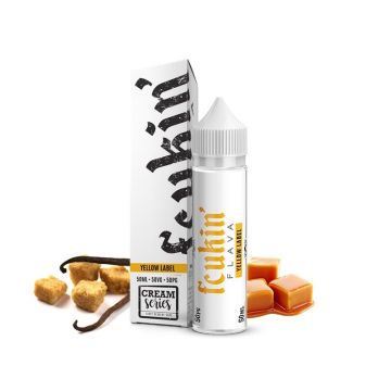 Yellow Label E-Liquid By Fcukin Flava Shortfill