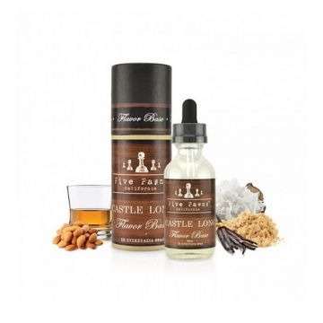 Castle Long E-Liquid By Five Pawns Shortfill