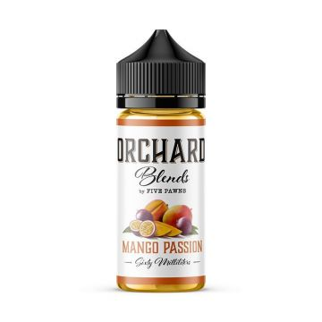 Mango Passion E-liquid Orchard Blends By Five Pawns