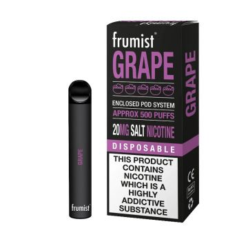 Frumist Grape Disposable Pod 20mg