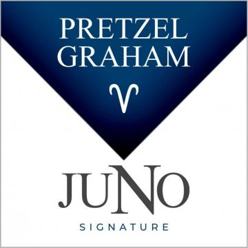 Twelve Vapor Signature Collection - Juno 4 Pack Pods - ARIES Pretzel Graham