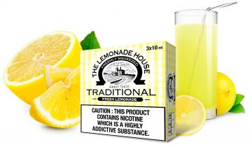 Traditional E-Liquid by The Lemonade House 30ml