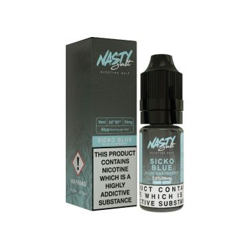 Sicko Blue E-Liquid by Nasty Salt 10ml