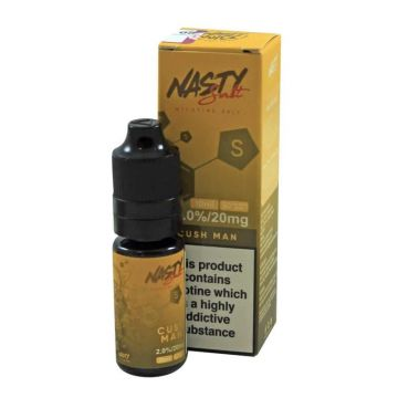 Cush man E-Liquid by Nasty Salt 10ml