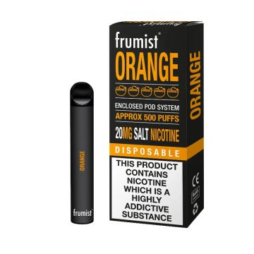 Frumist Orange Disposable Pod 20mg