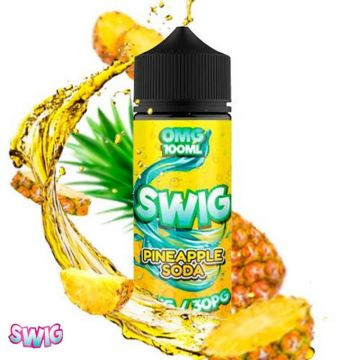 Pineapple Soda 100ml shortfill e-liquid by Swig