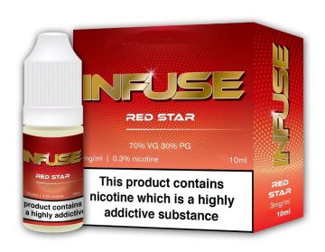 Red Star E-Liquid by Vape Infuse 10ml