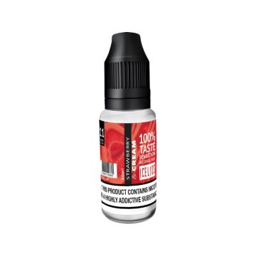 Strawberry & Cream E-liquid by Iceliqs 10ml