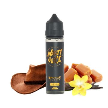 Bronze Blend E-Liquid by Nasty Juice Tobacco Shortfill