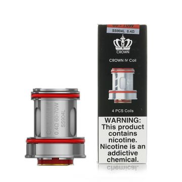 Uwell Crown 4 Coils 0.2 ohm 4 Pack