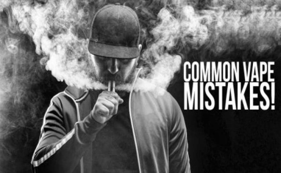 3 Rookie Vaping Mistakes That You Should Avoid