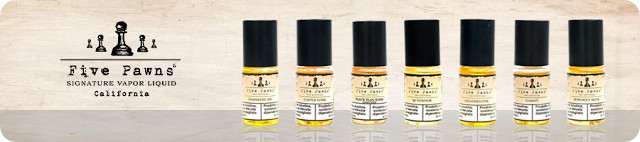 Five Pawns E-Liquid Burnt Oak