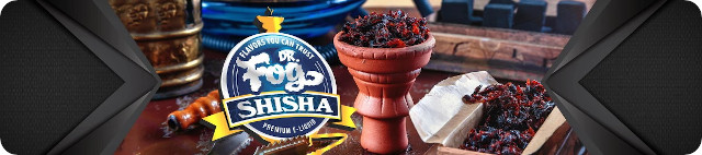 Dr Fog Shisha Series E-Liquid Burnt Oak