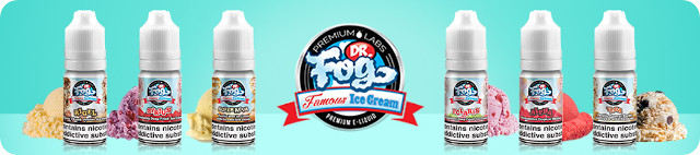 Dr Fog Famous Ice Cream E-Liquid Burnt Oak