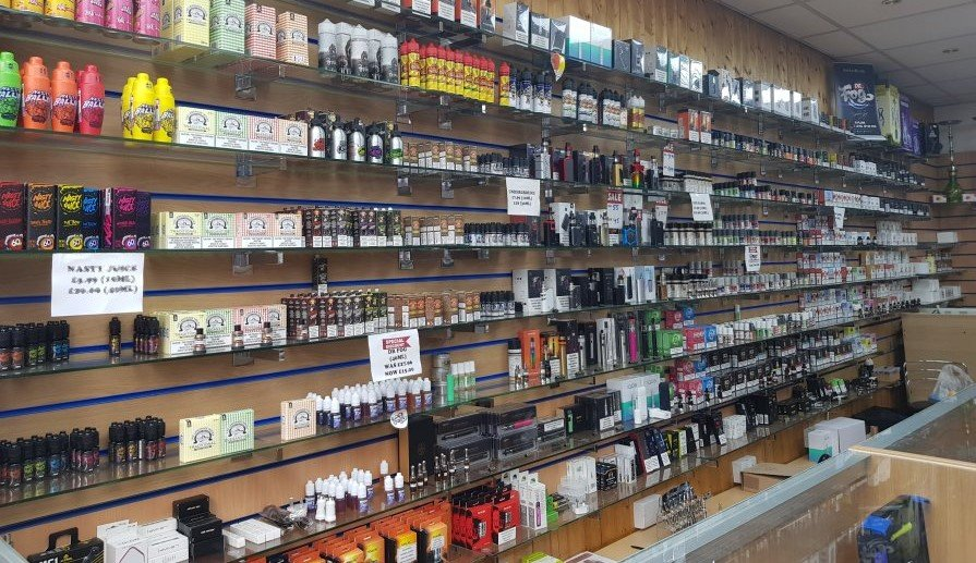 E-Liquid E-Juice Vape Shop Burnt Oak