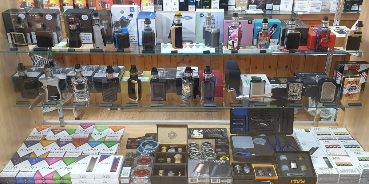 Electronic Cigarettes and E-Liquids In Burnt Oak